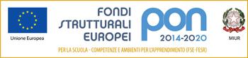 Logo Fondi Strutturali Europei PON FESR 2014-2020