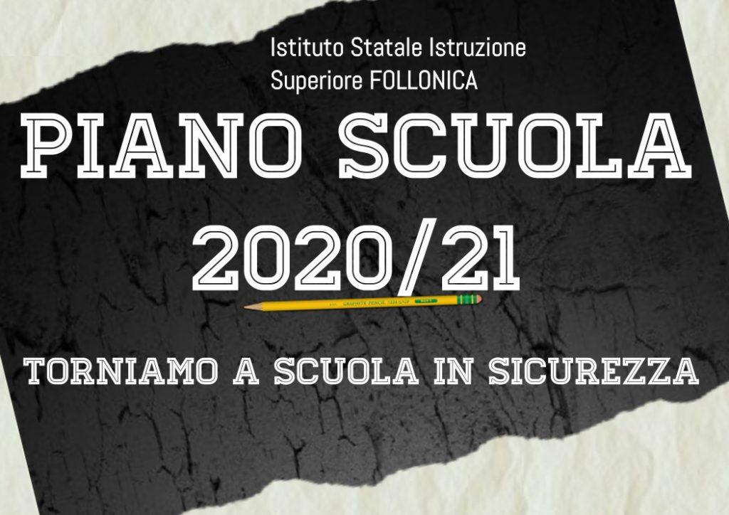 Piano Scuola 2020/21 Torniamo a Scuola in sicurezza