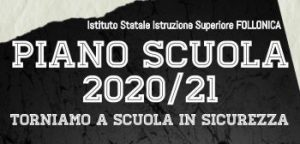 Immagine Piano SCUOLA 2020/21 Torniamo a Scuola in Sicurezza