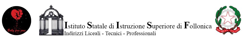 Loghi Bulli Free Zone, Istituto Superiore di Follonica e Ministero e Repubblica Italiana