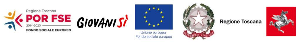 banner POR FSE Regione Toscana Giovani Sì