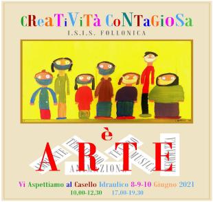 Logo dell'evento Creatività Contagiosa