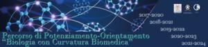 """Logo Percorso di potenziamento-orientamento """"Biologia con Curvatura Biomedia"""""""